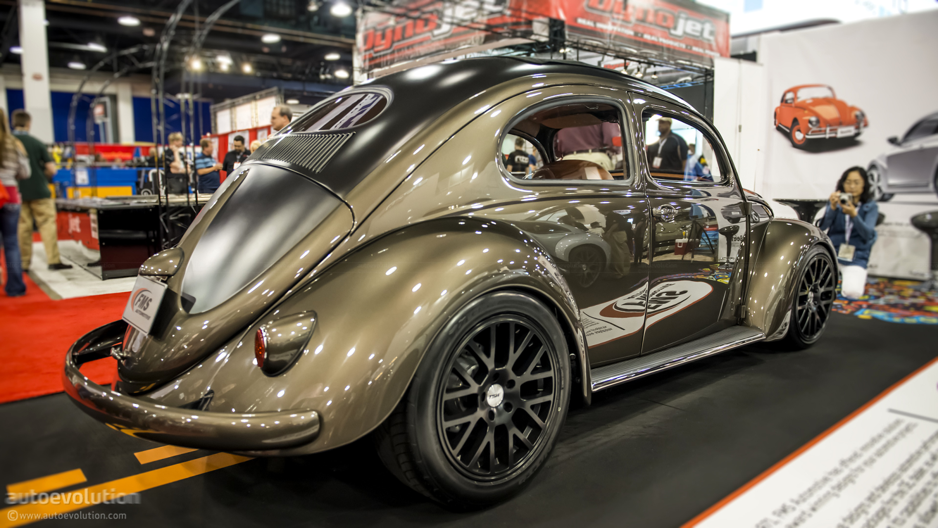 2012 Sema 1956 Vw Beetle By Fms Automotive Live Photos 8