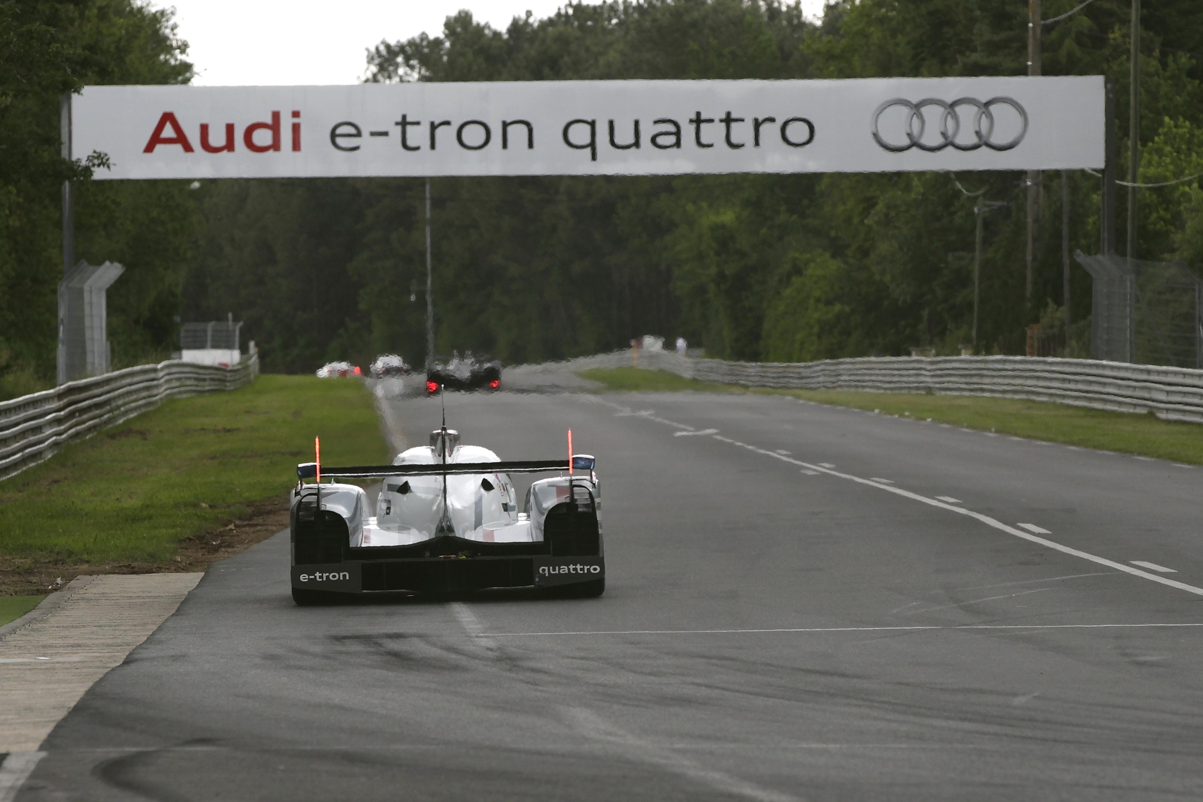 WEC - 24h Le Mans test day 2012